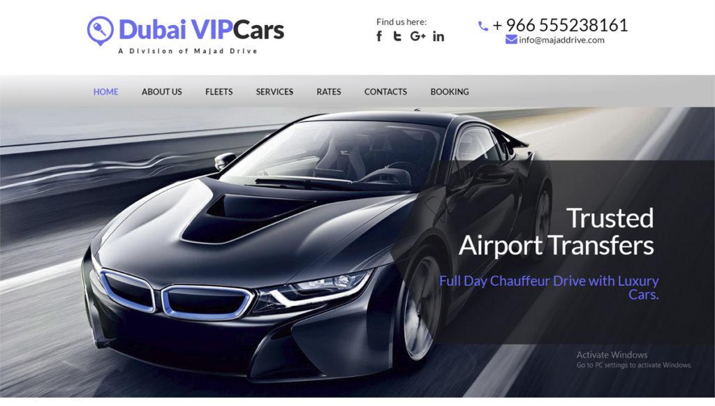 Dubai VIP Car