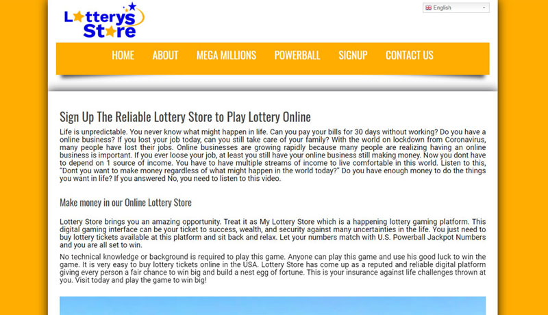 Lotterys Store