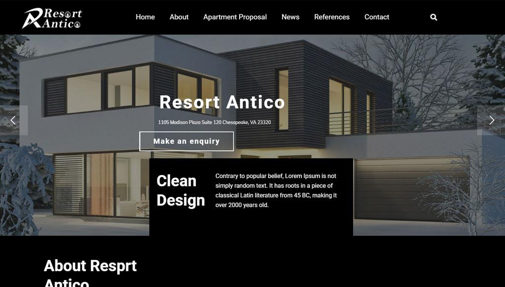 Resort antico